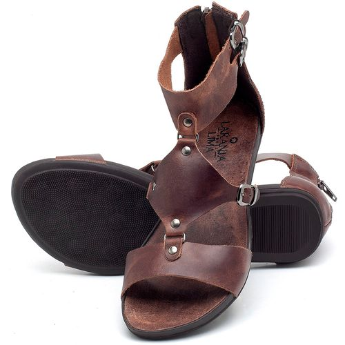 Laranja_Lima_Shoes_Sapatos_Femininos_Sandalia_Rasteira_Flat_em_Couro_Marrom_-_Codigo_-_137183_2