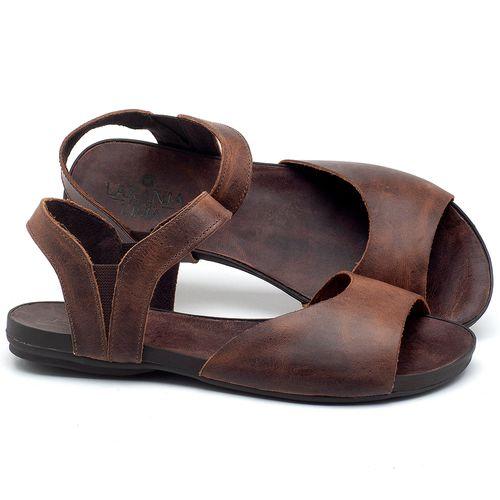 Laranja_Lima_Shoes_Sapatos_Femininos_Sandalia_Rasteira_Flat_em_Couro_Marrom_-_Codigo_-_137184_1