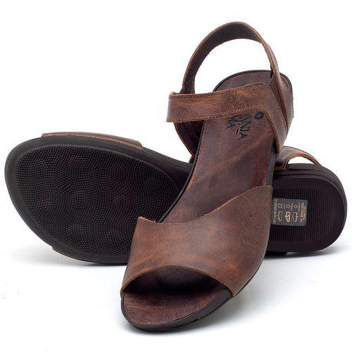 Laranja_Lima_Shoes_Sapatos_Femininos_Sandalia_Rasteira_Flat_em_Couro_Marrom_-_Codigo_-_137184_2