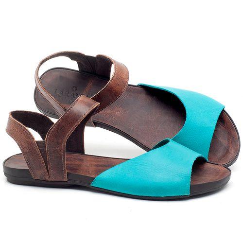 Laranja_Lima_Shoes_Sapatos_Femininos_Sandalia_Rasteira_Flat_em_Couro_Azul_-_Codigo_-_137184_1