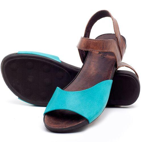 Laranja_Lima_Shoes_Sapatos_Femininos_Sandalia_Rasteira_Flat_em_Couro_Azul_-_Codigo_-_137184_2