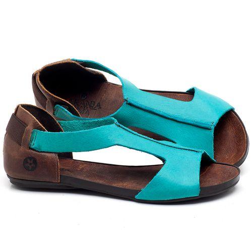 Laranja_Lima_Shoes_Sapatos_Femininos_Sandalia_Rasteira_Flat_em_Couro_Azul_-_Codigo_-_137186_1
