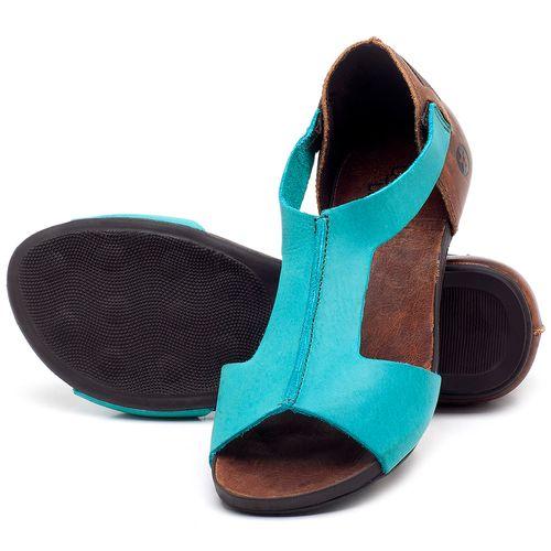 Laranja_Lima_Shoes_Sapatos_Femininos_Sandalia_Rasteira_Flat_em_Couro_Azul_-_Codigo_-_137186_2