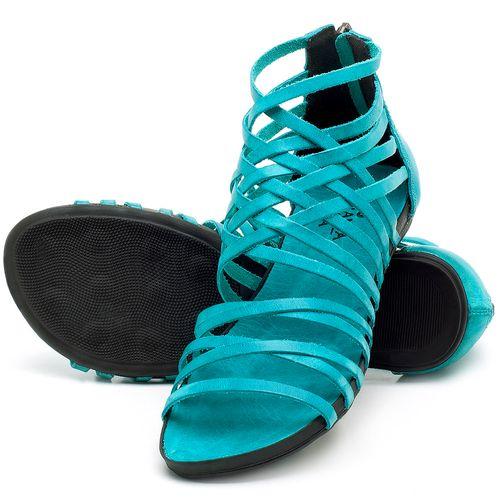 Laranja_Lima_Shoes_Sapatos_Femininos_Sandalia_Rasteira_Flat_em_Couro_Azul_-_Codigo_-_137188_2