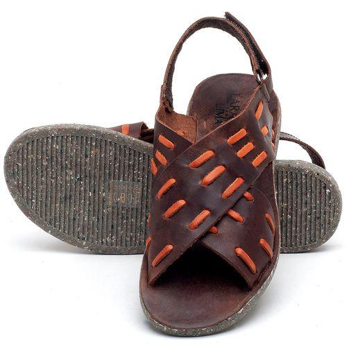 Laranja_Lima_Shoes_Sapatos_Femininos_Sandalia_Rasteira_Flat_em_Couro_Marrom_-_Codigo_-_137194_2