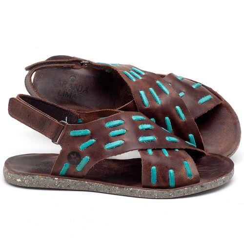 Laranja_Lima_Shoes_Sapatos_Femininos_Sandalia_Rasteira_Flat_em_Couro_Marrom_-_Codigo_-_137194_1