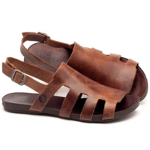 Laranja_Lima_Shoes_Sapatos_Femininos_Sandalia_Rasteira_Flat_em_Couro_Marrom_-_Codigo_-_137201_1
