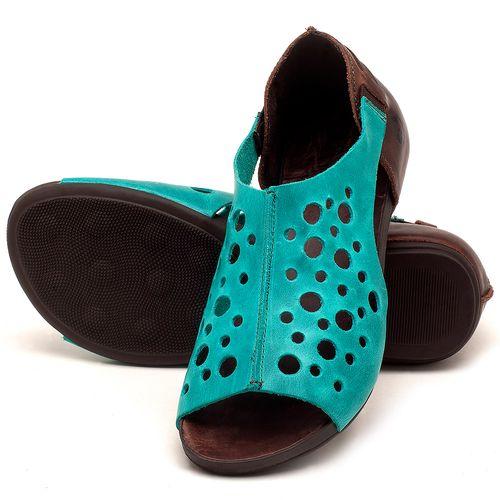 Laranja_Lima_Shoes_Sapatos_Femininos_Sandalia_Rasteira_Flat_em_Couro_Azul_-_Codigo_-_137202_2