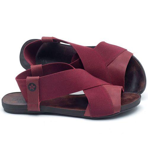 Laranja_Lima_Shoes_Sapatos_Femininos_Sandalia_Rasteira_Flat_em_Couro_Vinho_-_Codigo_-_137204_1