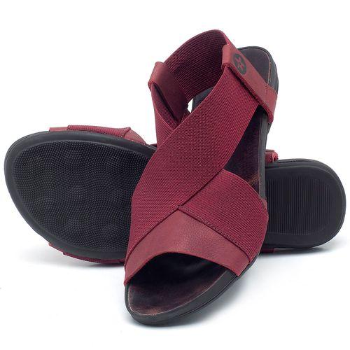 Laranja_Lima_Shoes_Sapatos_Femininos_Sandalia_Rasteira_Flat_em_Couro_Vinho_-_Codigo_-_137204_2
