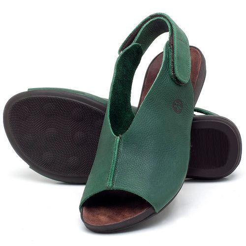 Laranja_Lima_Shoes_Sapatos_Femininos_Sandalia_Rasteira_Flat_em_Couro_Verde_-_Codigo_-_137205_2
