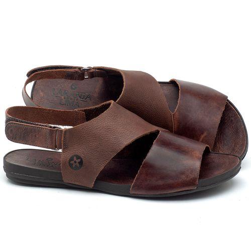 Laranja_Lima_Shoes_Sapatos_Femininos_Sandalia_Rasteira_Flat_em_Couro_Marrom_-_Codigo_-_137206_1