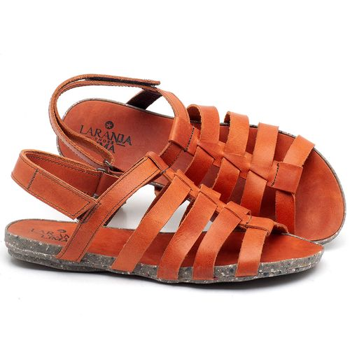 Laranja_Lima_Shoes_Sapatos_Femininos_Sandalia_Rasteira_Flat_em_Couro_Laranja_-_Codigo_-_137210_1