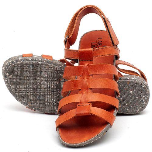 Laranja_Lima_Shoes_Sapatos_Femininos_Sandalia_Rasteira_Flat_em_Couro_Laranja_-_Codigo_-_137210_2