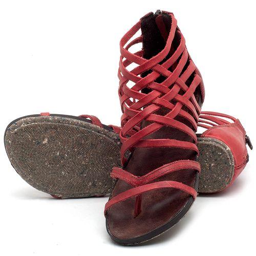 Laranja_Lima_Shoes_Sapatos_Femininos_Sandalia_Rasteira_Flat_em_Couro_Vermelho_-_Codigo_-_137211_2