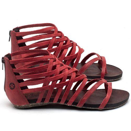 Laranja_Lima_Shoes_Sapatos_Femininos_Sandalia_Rasteira_Flat_em_Couro_Vermelho_-_Codigo_-_137211_1
