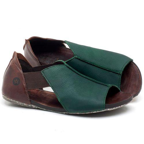 Laranja_Lima_Shoes_Sapatos_Femininos_Sandalia_Rasteira_Flat_em_Couro_Verde_-_Codigo_-_137212_1