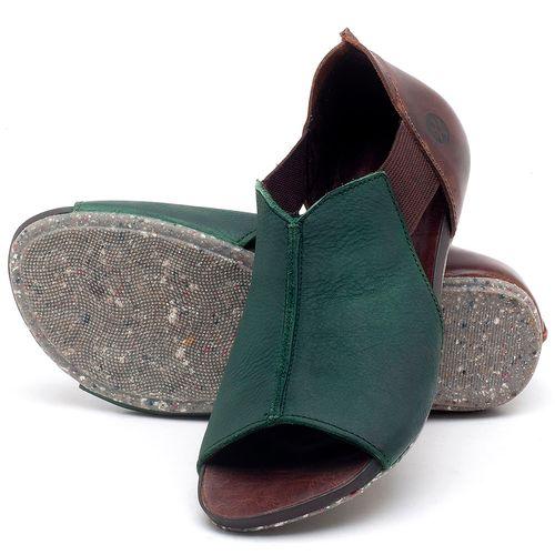 Laranja_Lima_Shoes_Sapatos_Femininos_Sandalia_Rasteira_Flat_em_Couro_Verde_-_Codigo_-_137212_2