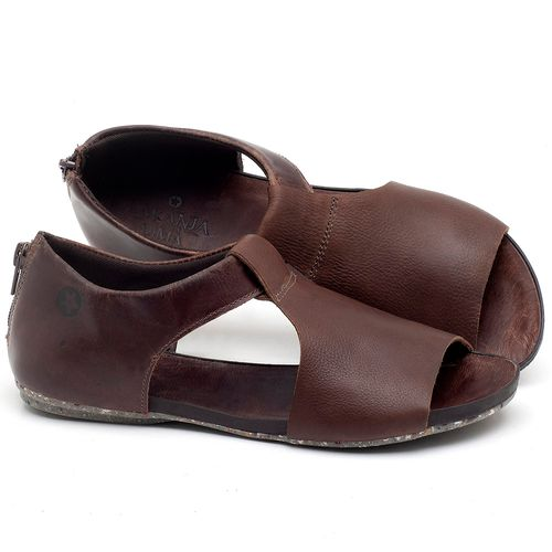 Laranja_Lima_Shoes_Sapatos_Femininos_Sandalia_Rasteira_Flat_em_Couro_Marrom_-_Codigo_-_137214_1