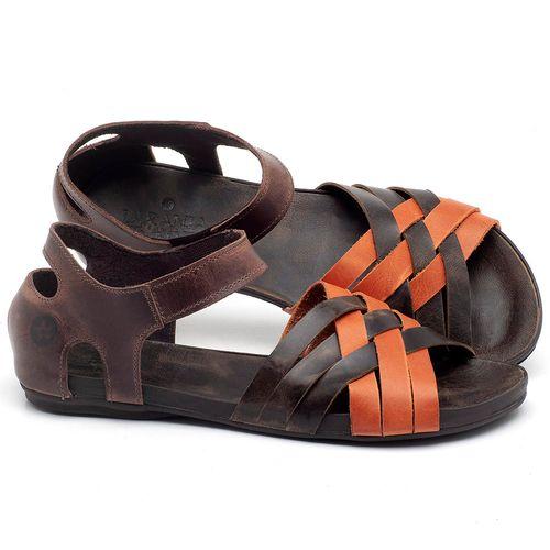 Laranja_Lima_Shoes_Sapatos_Femininos_Sandalia_Rasteira_Flat_em_Couro_Laranja_-_Codigo_-_137216_1