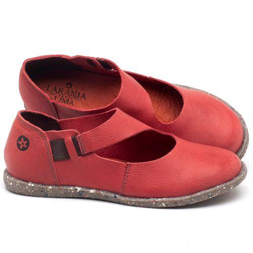 Laranja_Lima_Shoes_Sapatos_Femininos_Flat_Shoes_em_Couro_Vermelho_-_Codigo_-_137222_1