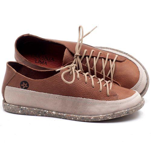 Laranja_Lima_Shoes_Sapatos_Femininos_Tenis_Cano_Baixo_em_Couro_Off-white_-_Codigo_-_137223_1