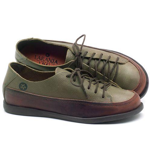 Laranja_Lima_Shoes_Sapatos_Femininos_Tenis_Cano_Baixo_em_Couro_Verde_-_Codigo_-_137223_1