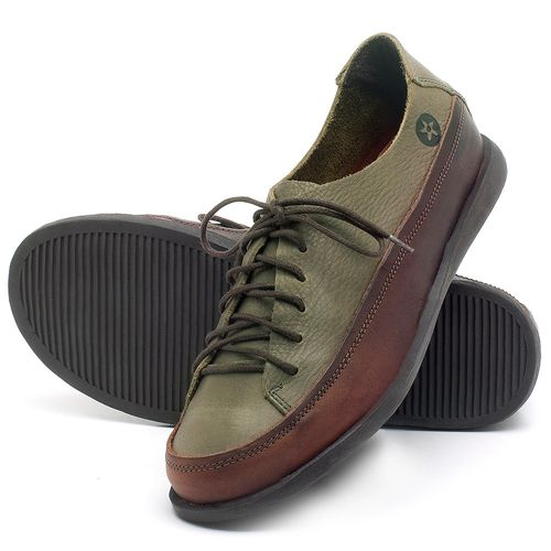 Laranja_Lima_Shoes_Sapatos_Femininos_Tenis_Cano_Baixo_em_Couro_Verde_-_Codigo_-_137223_2