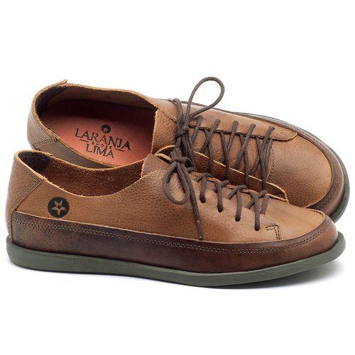 Laranja_Lima_Shoes_Sapatos_Femininos_Tenis_Cano_Baixo_em_Couro_Caramelo_-_Codigo_-_137223_1