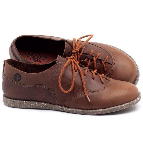 Laranja_Lima_Shoes_Sapatos_Femininos_Tenis_Cano_Baixo_em_Couro_Marrom_-_Codigo_-_137224_1