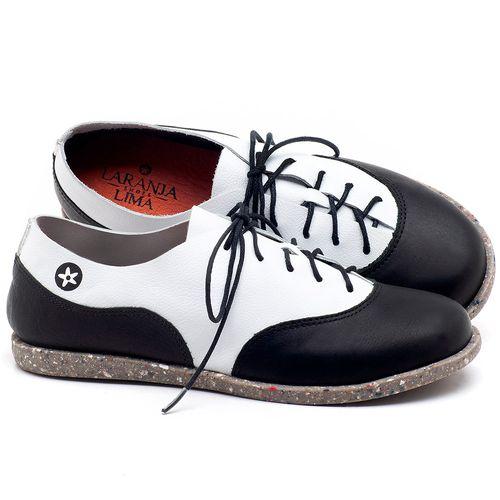 Laranja_Lima_Shoes_Sapatos_Femininos_Tenis_Cano_Baixo_em_Couro_Bicolor_-_Codigo_-_137224_1