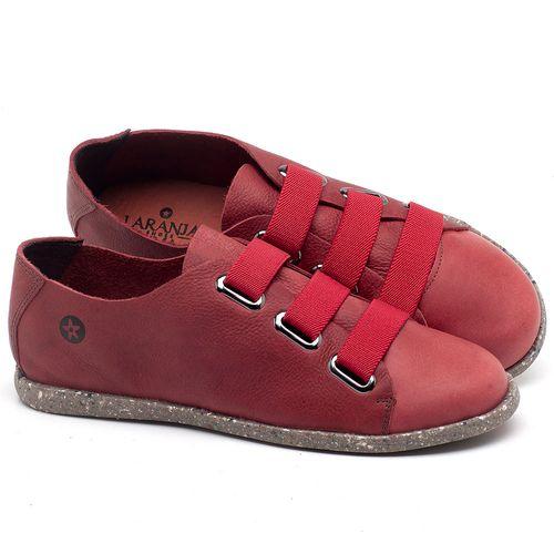 Laranja_Lima_Shoes_Sapatos_Femininos_Tenis_Cano_Baixo_em_Couro_Vermelho_-_Codigo_-_137226_1