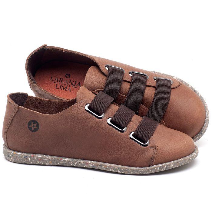 Laranja_Lima_Shoes_Sapatos_Femininos_Tenis_Cano_Baixo_em_Couro_Marrom_-_Codigo_-_137226_1
