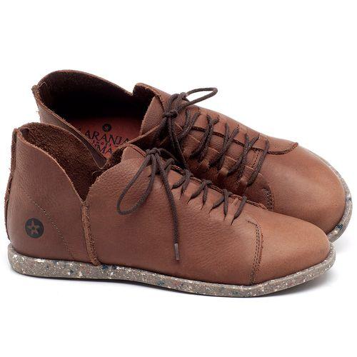 Laranja_Lima_Shoes_Sapatos_Femininos_Tenis_Cano_Baixo_em_Couro_Marrom_-_Codigo_-_137227_1