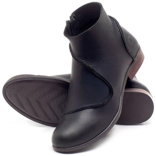 Laranja_Lima_Shoes_Sapatos_Femininos_Bota_Cano_Curto_em_Couro_Preto_-_Codigo_-_137232_2