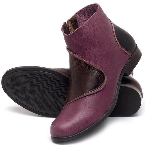 Laranja_Lima_Shoes_Sapatos_Femininos_Bota_Cano_Curto_em_Couro_Vinho_-_Codigo_-_137232_2