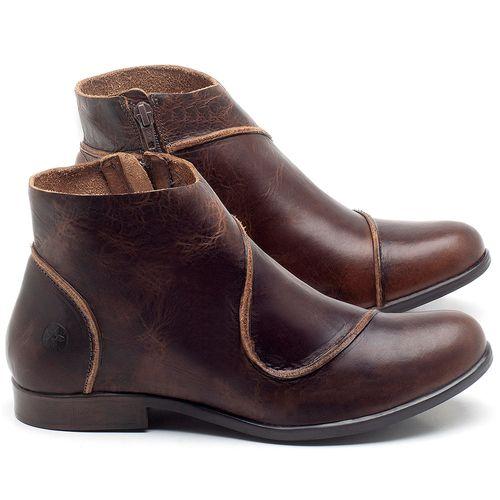 Laranja_Lima_Shoes_Sapatos_Femininos_Bota_Cano_Curto_em_Couro_Marrom_-_Codigo_-_137232_1
