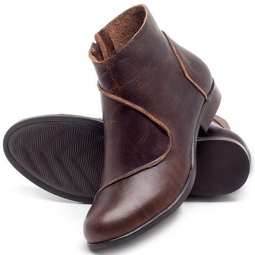 Laranja_Lima_Shoes_Sapatos_Femininos_Bota_Cano_Curto_em_Couro_Marrom_-_Codigo_-_137232_2