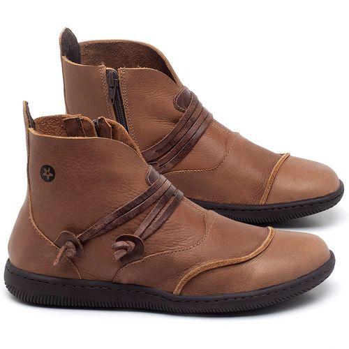 Laranja_Lima_Shoes_Sapatos_Femininos_Tenis_Cano_Alto_em_Couro_Caramelo_-_Codigo_-_137234_1