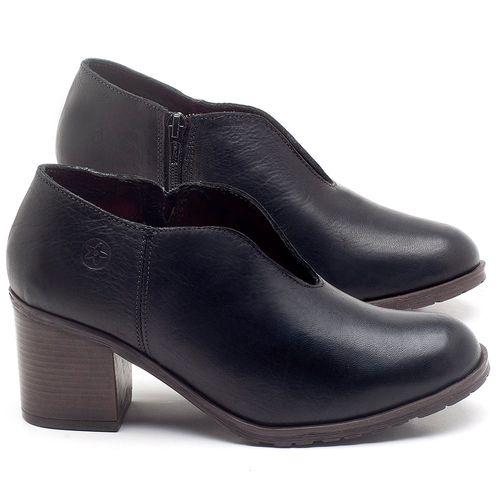 Laranja_Lima_Shoes_Sapatos_Femininos_Bota_Cano_Curto_Salto_de_6_cm_em_Couro_Preto_-_Codigo_-_137242_1