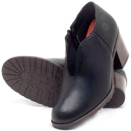 Laranja_Lima_Shoes_Sapatos_Femininos_Bota_Cano_Curto_Salto_de_6_cm_em_Couro_Preto_-_Codigo_-_137242_2