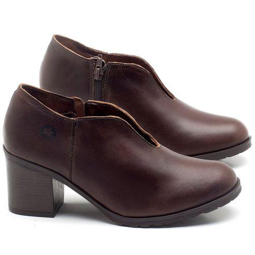 Laranja_Lima_Shoes_Sapatos_Femininos_Bota_Cano_Curto_Salto_de_6_cm_em_Couro_Marrom_-_Codigo_-_137242_1