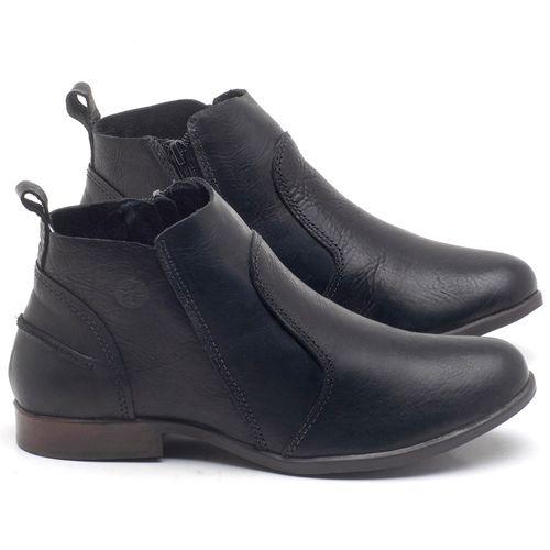 Laranja_Lima_Shoes_Sapatos_Femininos_Bota_Cano_Curto_em_Couro_Preto_-_Codigo_-_137244_1