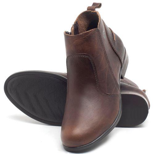 Laranja_Lima_Shoes_Sapatos_Femininos_Bota_Cano_Curto_em_Couro_Marrom_-_Codigo_-_137244_2