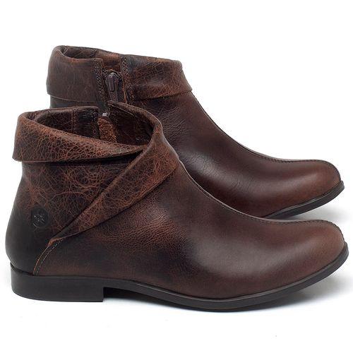 Laranja_Lima_Shoes_Sapatos_Femininos_Bota_Cano_Curto_em_Couro_Marrom_-_Codigo_-_137245_1