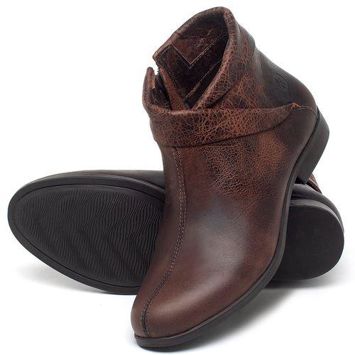 Laranja_Lima_Shoes_Sapatos_Femininos_Bota_Cano_Curto_em_Couro_Marrom_-_Codigo_-_137245_2