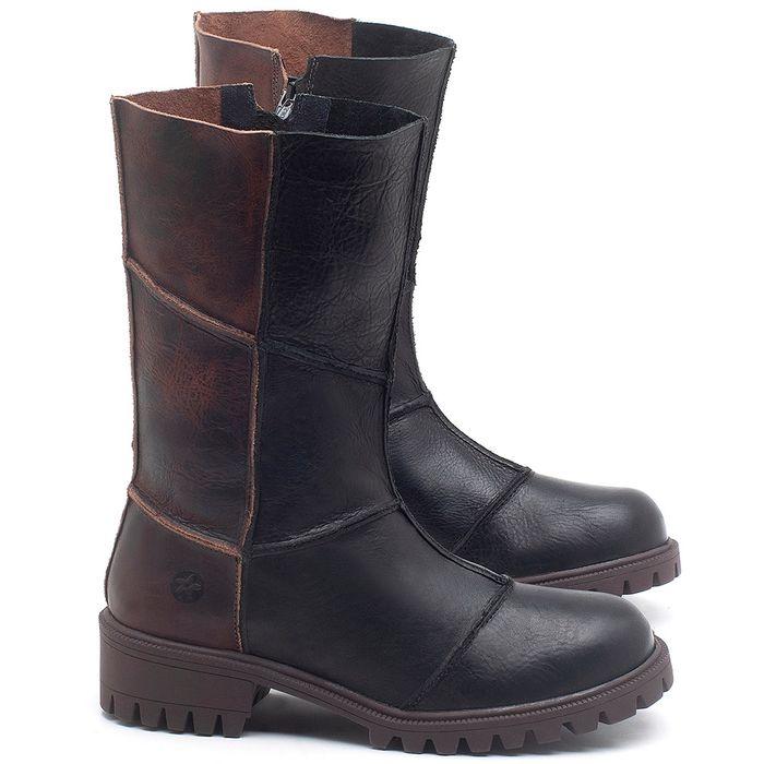 Laranja_Lima_Shoes_Sapatos_Femininos_Bota_Cano_Medio_Salto_de_4_cm_em_Couro_Preto_-_Codigo_-_137247_1
