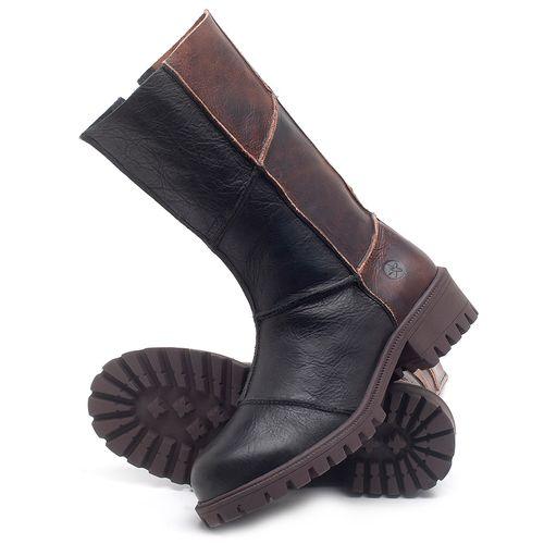 Laranja_Lima_Shoes_Sapatos_Femininos_Bota_Cano_Medio_Salto_de_4_cm_em_Couro_Preto_-_Codigo_-_137247_2