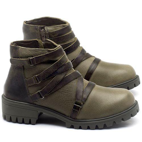 Laranja_Lima_Shoes_Sapatos_Femininos_Bota_Cano_Curto_em_Couro_Verde_-_Codigo_-_137248_1