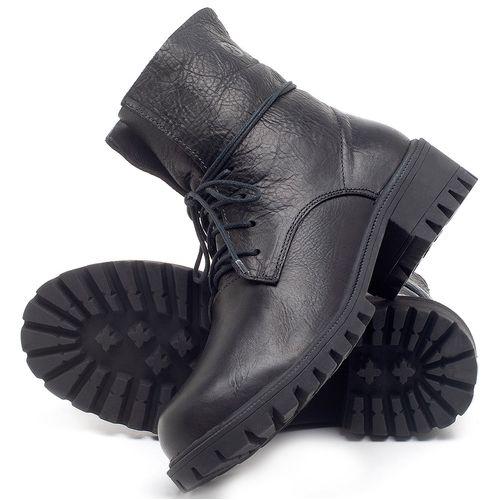 Laranja_Lima_Shoes_Sapatos_Femininos_Bota_Cano_Curto_em_Couro_Preto_-_Codigo_-_137249_2